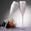 Crystal Accents Anniversary Flutes