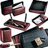 8 Piece Leather Desk Set