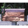 Decorative Copper Mailboxes