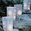 Snowflake Luminary Kit
