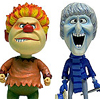 Heat Miser and Snowmiser Bobble Heads