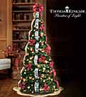 Thomas Kinkade Christmas Tree - Pop-up Christmas Tree Ready in Minutes