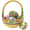 Jim Shore Easter Basket and Eggs