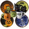 Pfaltzgraff Halloween Dinnerware and Mugs