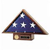 Wooden Flag Case - Military, Armed Services
