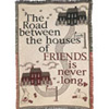 Road Between Friends Afghan - Friends Thank You Gift