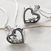 Fills Heart Necklace