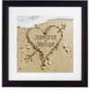 Heart in Sand Valentines Print